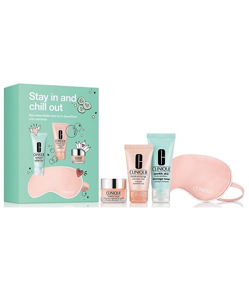 Clinique 4-Pc. Stay In & Chill Out Set