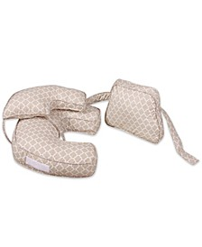 Snuggahug 4-In-1 Nursing Pillow With Back And Boost, Moroccan Sand