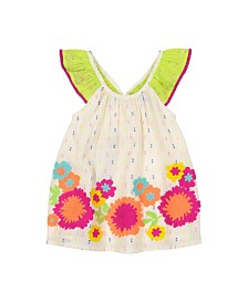 Masala Baby Girls Butterfly Dress Magic Floral