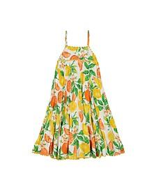 Masala Baby Girls Koko Dress Citrus Blossom