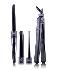 Royale Flat Iron-Curling Wand Duet Set