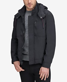 Marc New York Men's Hooded Bomber Jacket