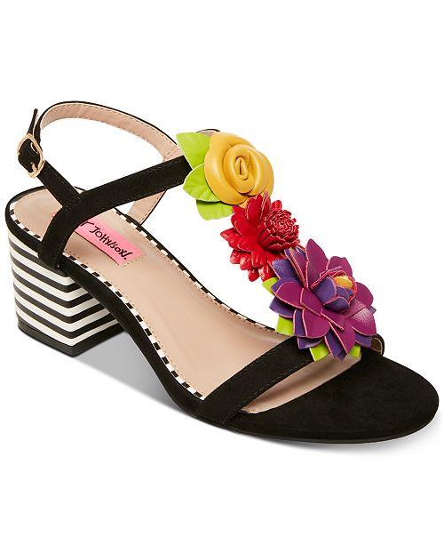 Betsey Johnson Adde Dress Sandals