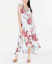 06041a6ea1 American Rag Juniors' Ruffled Surplice Maxi Dress, Created for Macy's