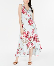 American Rag Juniors' Ruffled Surplice Maxi Dress, Created for Macy's