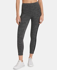 DKNY Sport Mesh-Lattice Leggings