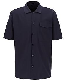 BOSS Men's Powell Relaxed-Fit Cotton Shirt