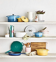Martha Stewart Collection Enameled Cast Iron Cookware, Created for Macy's
