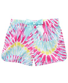 Max & Olivia Little & Big Girls Tie-Dyed Pajama Shorts, Created for Macy's