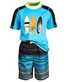 Laguna Toddler Boys Summer Stripe Swim Set