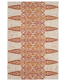 CLOSEOUT! Safavieh Exalt EXA125 Orange 4' x 6' Area Rug