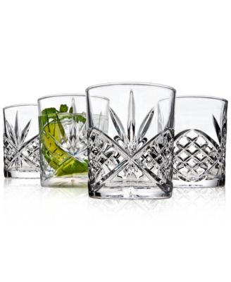 Dublin Acrylic Set of 4 Double Old Fashioned Glasses