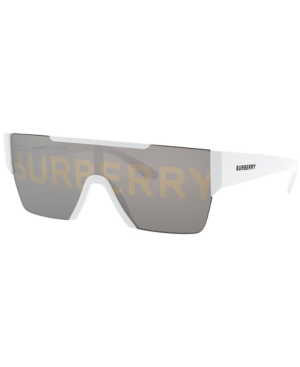 Burberry Sunglasses, Be4291 38 In Silver