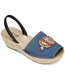 Women's Fine Glass Patch Espadrilles