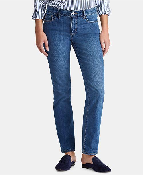 Lauren Ralph Lauren Super Stretch Modern Curvy Straight Jeans, Regular & Short Lengths