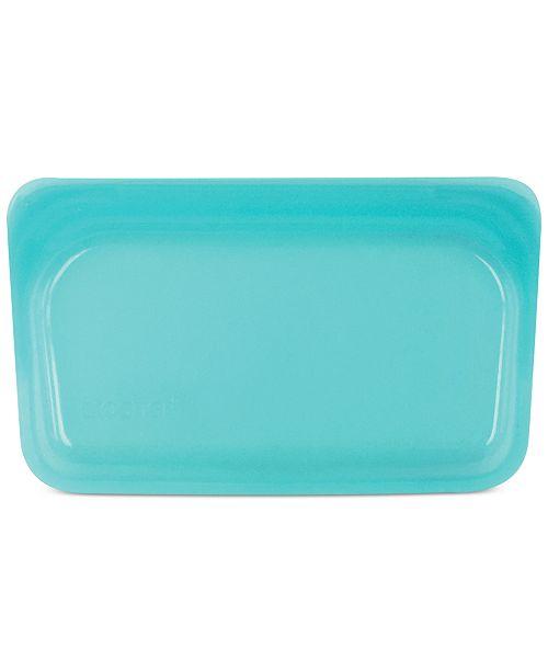 Stasher Stasherbag Reusable Snack Bag, Aqua