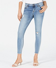 Connie Ankle Skinny Frayed Jeans