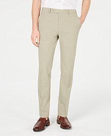 Calvin Klein Men's Slim-Fit Stretch Washable Suit Pants