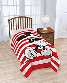 Mickey Mouse Jersey Classic Twin Blanket