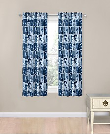 "Star Wars Classic Space Battle 63"" Drapes"