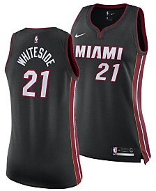 Nike Women's Hassan Whiteside Miami Heat Swingman Jersey