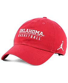 Jordan Oklahoma Sooners Campus Sport Strapback Cap
