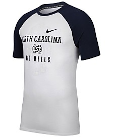 Nike Men's North Carolina Tar Heels Vault Raglan T-Shirt