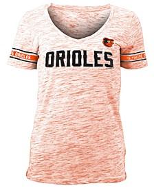 Women's Baltimore Orioles Space Dye T-Shirt