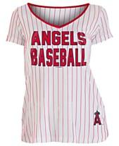 f44e9ccf8 5th   Ocean Women s Los Angeles Angels Pinstripe V-Neck T-Shirt