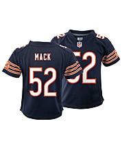 Khalil Mack NFL Fan Shop: Jerseys Apparel, Hats & Gear - Macy's