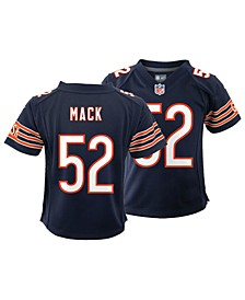Little Boys Khalil Mack Chicago Bears Game Jersey