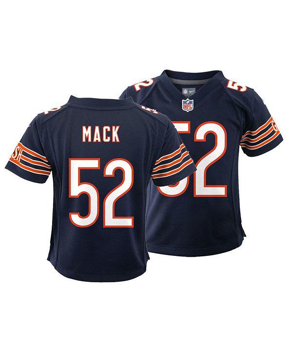 Nike Little Boys Khalil Mack Chicago Bears Game Jersey