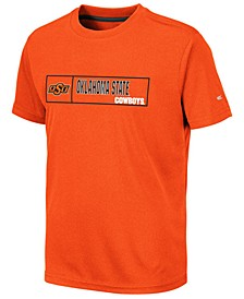Big Boys Oklahoma State Cowboys Boxed Logo Polyester T-Shirt