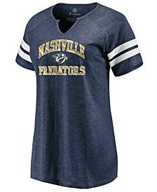 Women's Nashville Predators Heart and Soul T-Shirt