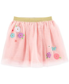 Carter's Toddler Girls Flower Appliqué Tutu Skirt