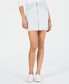 Valerie Zip-Front Denim Skirt, Created for Macy's