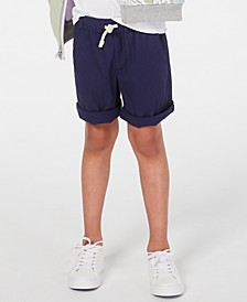 Little Boys Pull-on Shorts with Functional Drawstring, Created for Macy's
