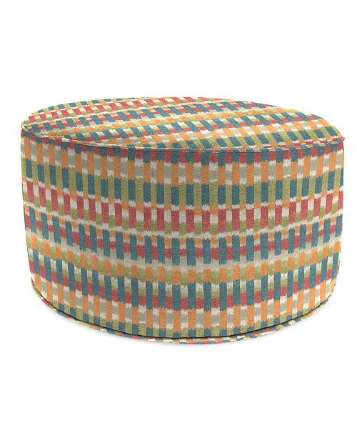 Groovy Round High Outdoor Pouf 1 Pack Squirreltailoven Fun Painted Chair Ideas Images Squirreltailovenorg