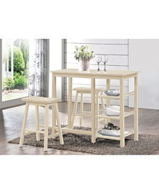 Nyssa 3-Piece Counter Height Set