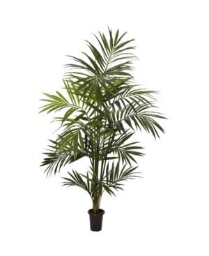 Nearly Natural 7' Kentia Palm Faux Silk Tree