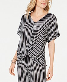 Knot-Hem Top, Created for Macy's