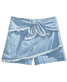 GUESS Big Girls Cotton Denim Skort