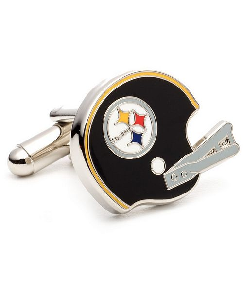 Cufflinks Inc. Retro Pittsburgh Steelers Helmet Cufflinks
