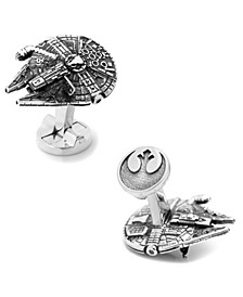 3D Millennium Falcon Cufflinks