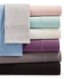 Martha Stewart Essentials Jersey 4-Pc. Sheet Sets, Created for Macy's