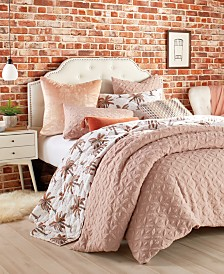 Peri Home Raised Petal King Comforter Set