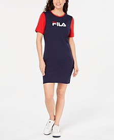 Roslyn Colorblocked T-Shirt Dress