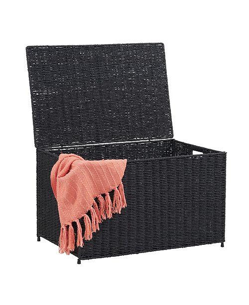 Household Essentials Large Wicker Storage Chest