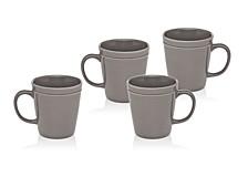 Culinara Slate Set/4 Mugs