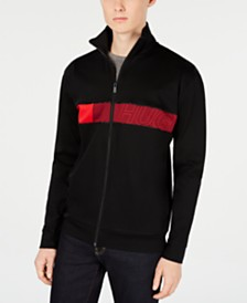 HUGO  Men's Chest Stripe Track Jacket